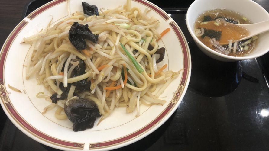 一品香伝統の焼きそば「上海やきそば」は絶品!